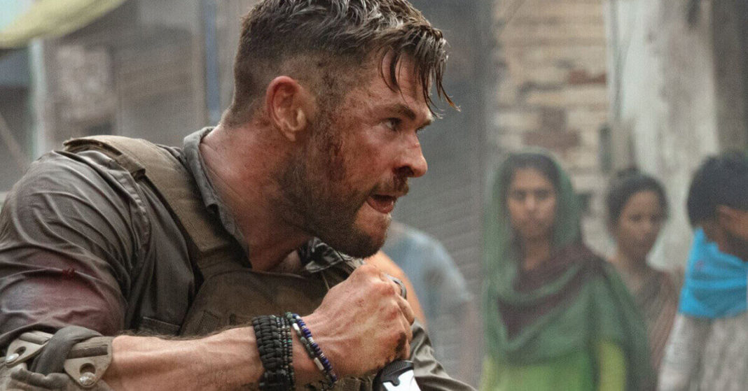 Chris Hemsworth stars in another testosterone-charged