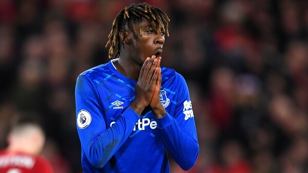 Everton disappointment