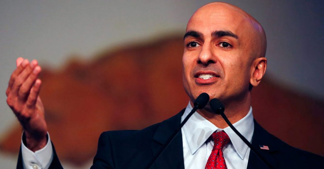 Fed's Kashkari says Trump's plan to reopen economy makes sense