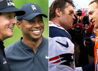 Tiger Woods, Phil Mickelson, Tom Brady and Peyton Manning are set to play a golf match for COVID-19 relief