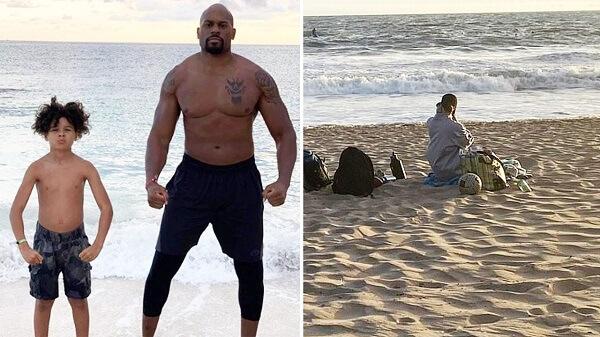 Former WWE Star Shad Gaspard Missing After Beach Swim as Son Rescued