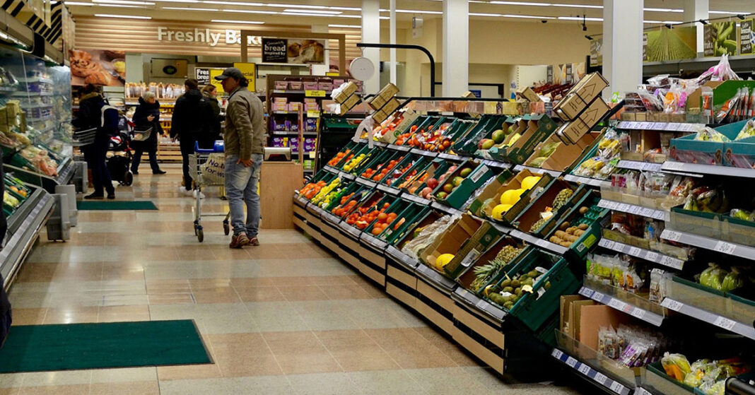 Grocery prices are soaring