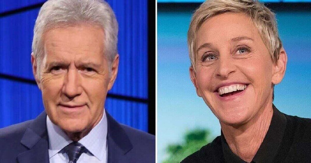 Alex Trebek, Ellen DeGeneres, win big at Daytime Emmys