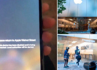 Apple track looters who steal iPhones