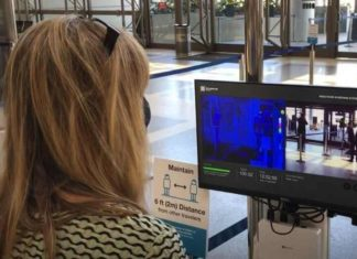 LAX tests Thermal Cameras to detect Feverish Passengers