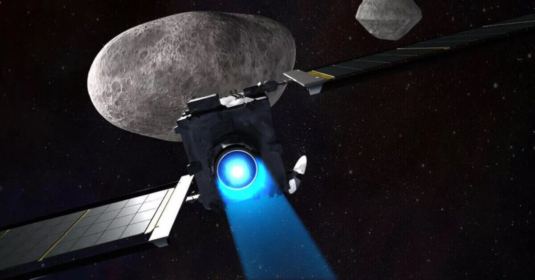 NASA is going to crash a spacecraft into a moon the size of the Great Pyramid