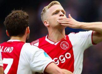 Van de Beek, Tagliafico and Onana can leave Ajax this summer