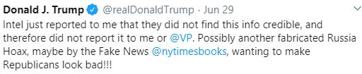trump fake report