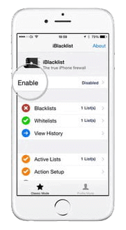 Block calls using built-in features on iPhone