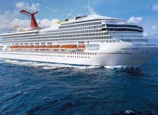 Carnival Cruise Line sells two ships lays up two more