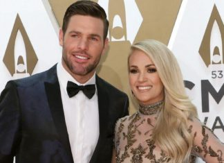 Carrie Underwood shares video Mike Fisher