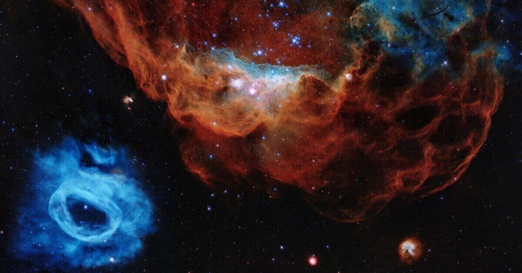 Huge 3D-map of the universe revealed