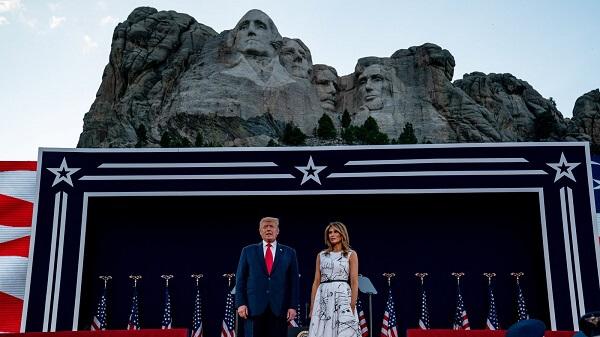 Trump's 'National Garden' of heroes