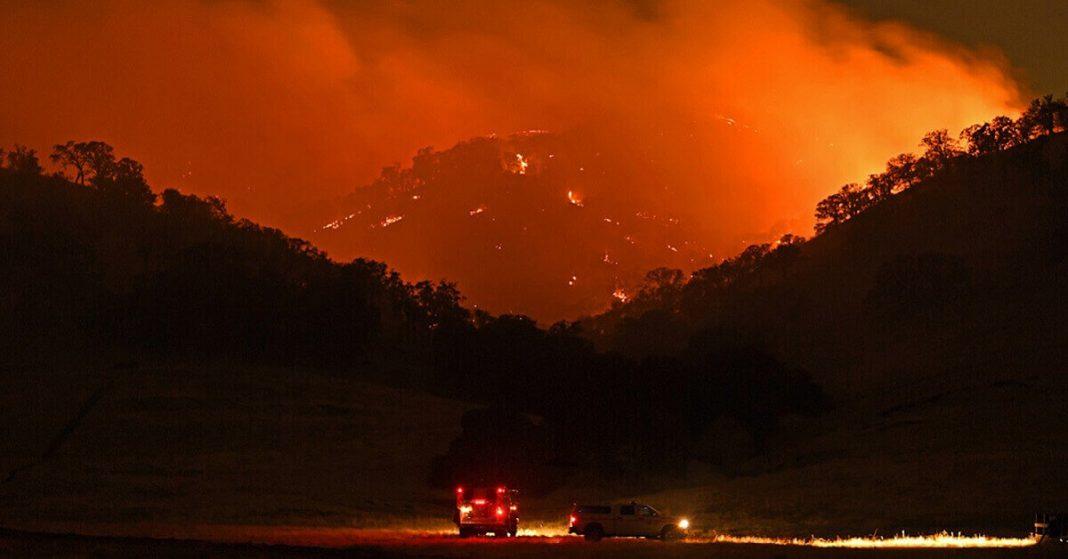 Evacuation warnings issued for parts of Santa Clara