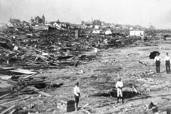 Hurricane Galveston in 1900