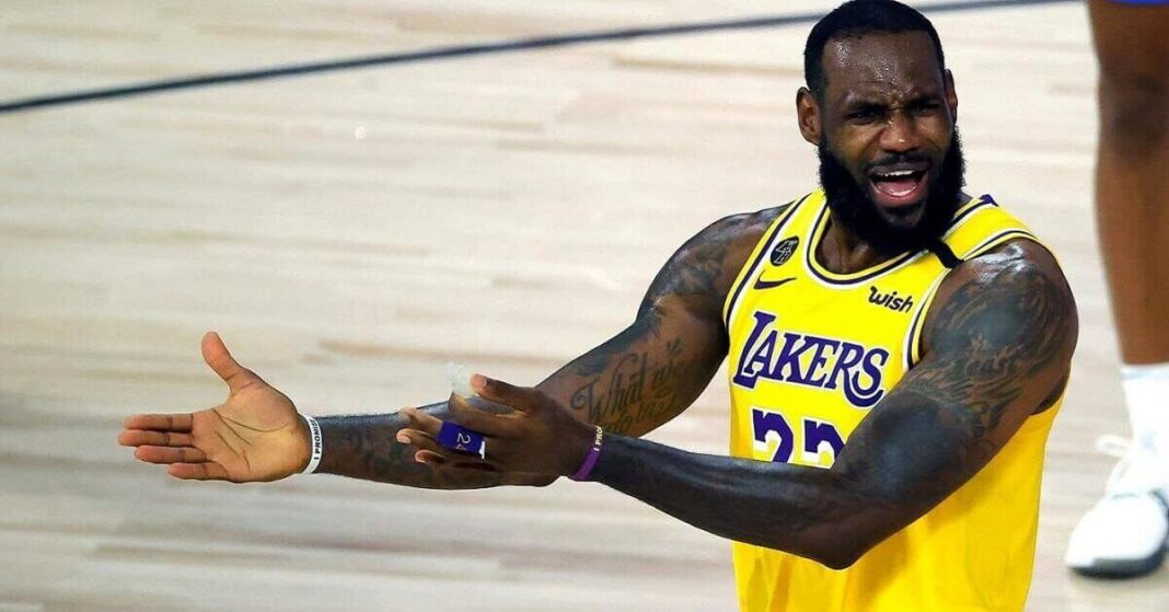 LeBron James' Lakers are the no. 1 seed