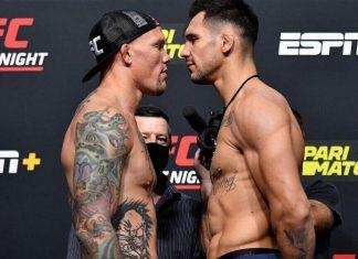 UFC Fight Night Results - Aleksandar Rakic vs Anthony Smith