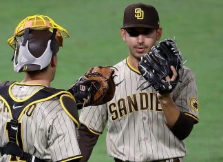 Castro gets big hit after trade; Padres rout Angels 11-4