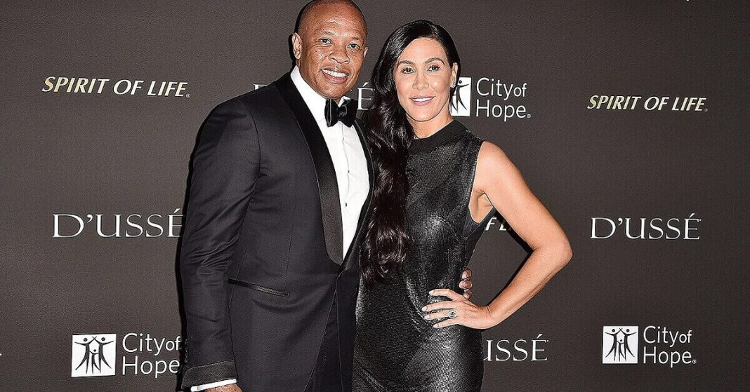 Dr. Dre's Estranged wife Nicole Young is seeking $2 million in temporary spousal support