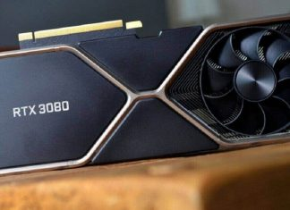 Nvidia RTX 3080 graphics card