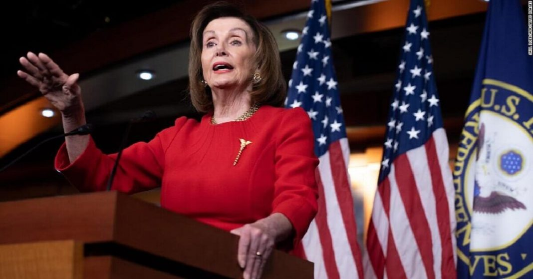Pelosi reveals legislation which is aimed at limiting presidential powers