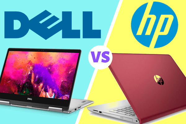 components comparison between hp and dell laptop
