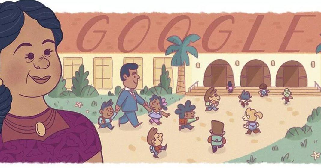 Google Doodle celebrates civil rights pioneer Felicitas Mendez