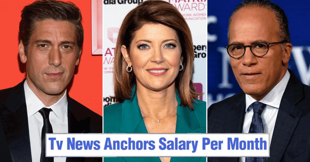 news anchors salary