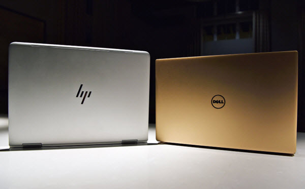 price comparison between hp and dell laptop