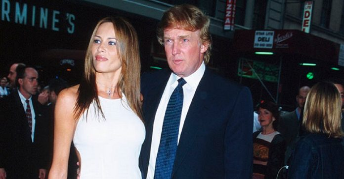Melania and Donald met in 1998 at a Fashion Week party