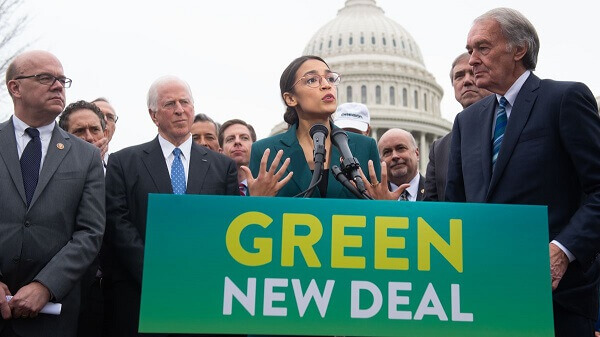 , a teen Swedish climate change activist, has come out in support of Biden