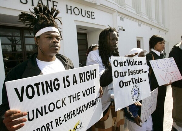 Minorities fight to have the right to vote