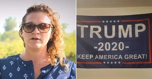 Teacher Gives Student 15 Seconds to Takedown Trump's Flag