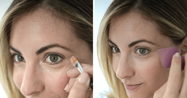 """""""The Triangle Trick"""" is all that you need to know to cover your dark circles."""