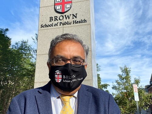 The dean of the Brown University of Public Health