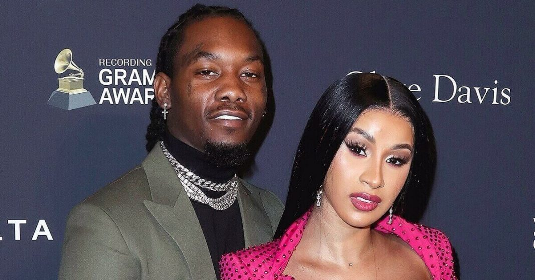 Cardi B and Offset spotted romancing at her birthday party