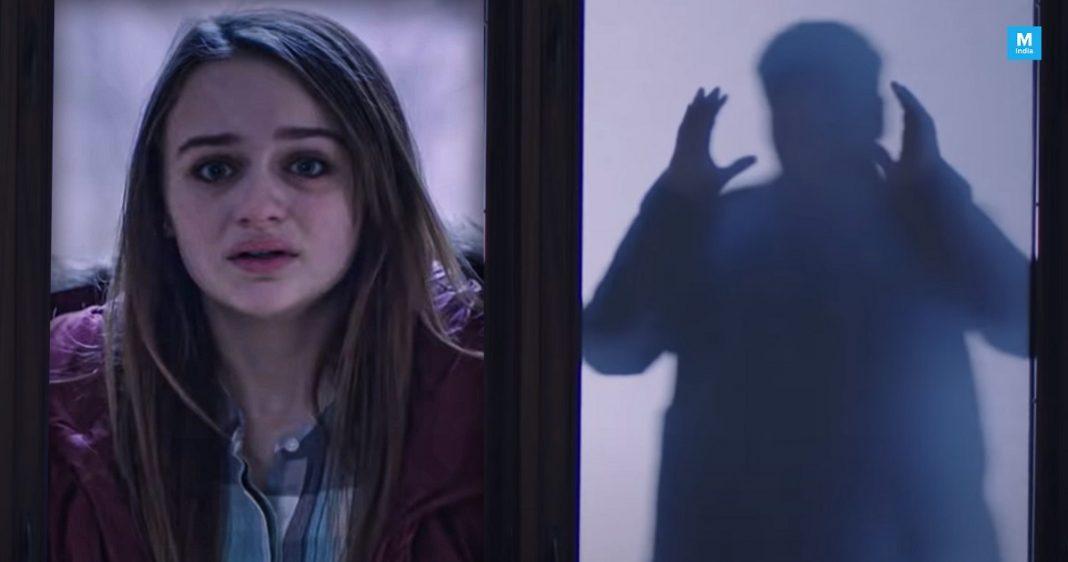 Depressive Teen In A Film