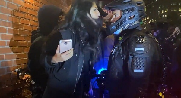 Spitting In Cop's Face
