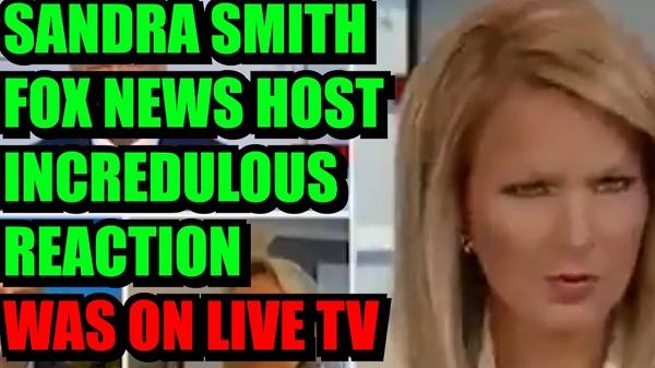 Fox News Anchor Sandra Smith live on tv
