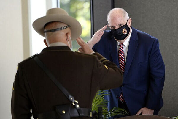 Hogan Encourages People to Wear Masks for their Well-Being