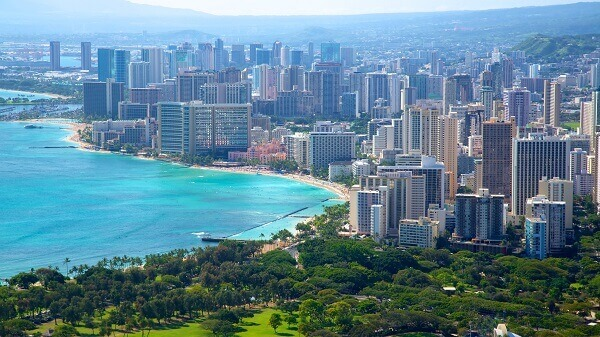 Honolulu beautiful view