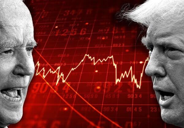 stock market will react, if Biden wins
