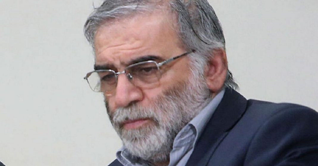 Iran's Nuclear Scientist Mohsen Fakhrizadeh