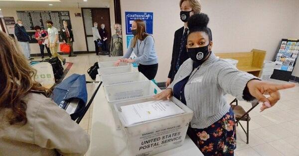 Postal Worker Denies calming of voting fraud