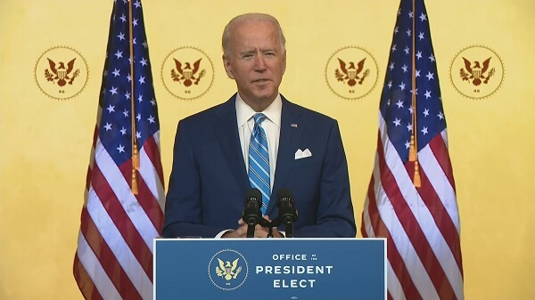 Biden Family Stands with the People of America on Thanksgiving, Says Joe and Jill Biden