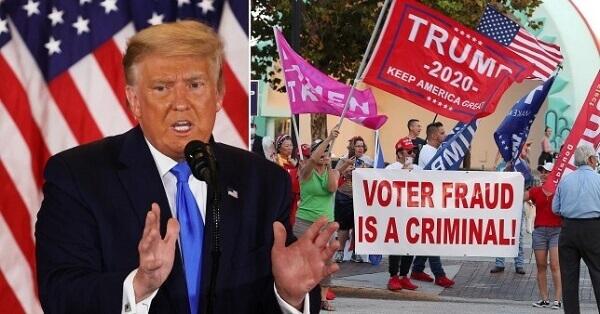 Trump N America in Danger Conceding