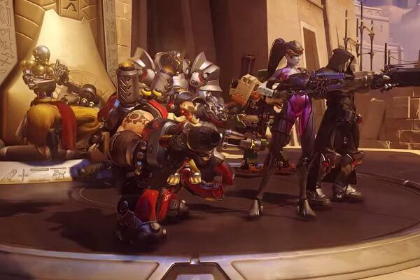 overwatch game: Team Battle