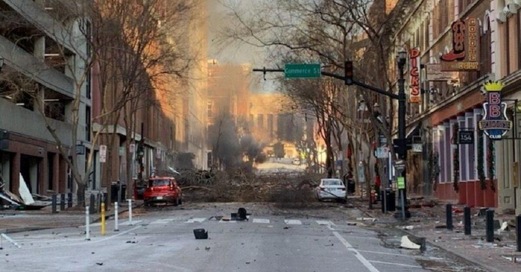 1 day ago France 24 Christmas Day explosion in Nashville
