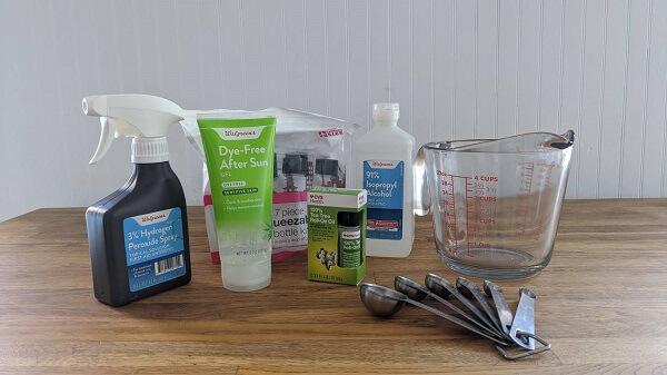 make your homemade hand sanitizer
