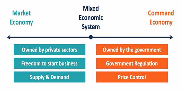 Mixed Economic System in the US